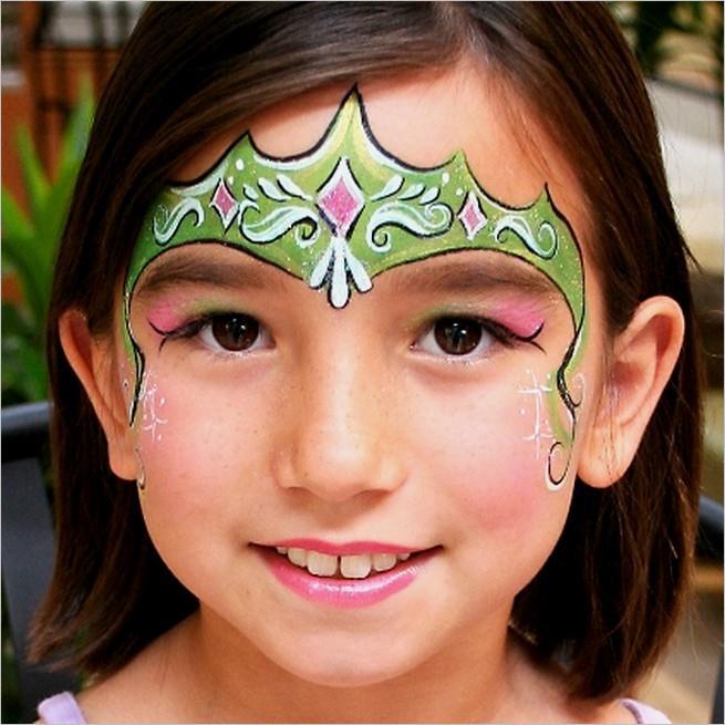 Как рисовать принцессу на лице