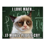 Math Test + And -
