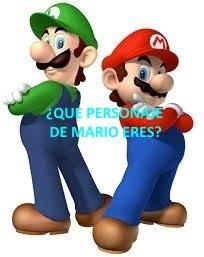 ¿Que Personaje De Mario Eres?